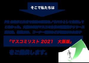 そこで、私たちPR会社がこれまで自社の重要なノウハウとして 公開してこなかった大阪の主要マスコミ各社の連絡先やリリース送付先、編集方針、コーナー概要などが網羅された冊子「マスコミリスト【大阪版】」を提供します!